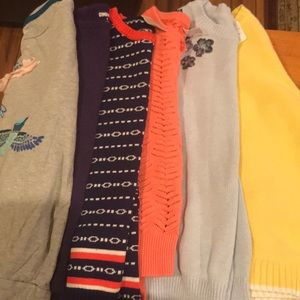 Gymboree Bundle of 6 sweaters for girls